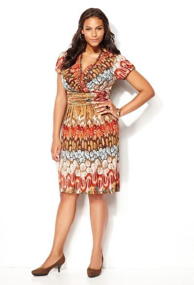 трикотажные платья для офиса