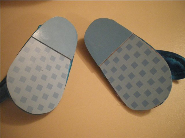 Туфельки готовы.