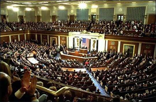 Взрыв здания Конгресса США