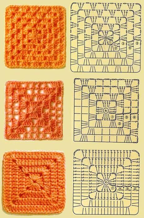 Метки: бабушкин квадрат