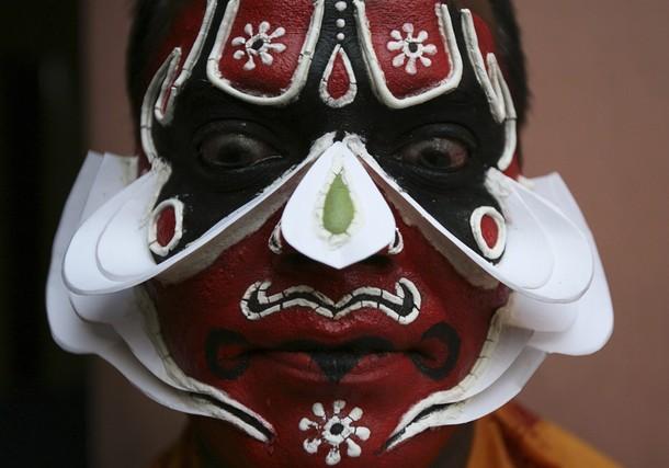 Фестиваль Суриа танца в Хайдарабаде (Soorya Dance festival in Hyderabad), 16 февраля 2012 года.