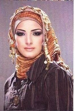 Как красиво повязать платок хиджаб