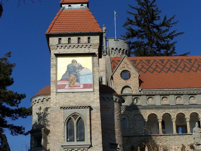 Замок Бори- Замок вечной любви (Bory var, Szekesfehervar) 42897
