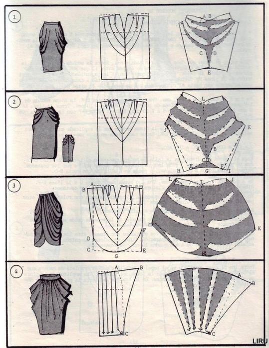 这么多的裙子模型图纸 - maomao - 我随心动
