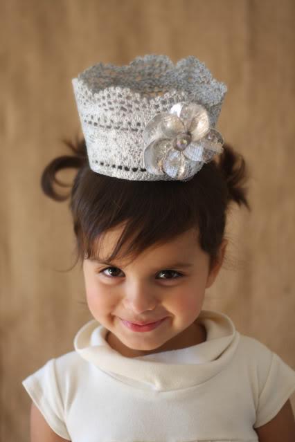 Мастер класс короны для девочки на Новый Год.