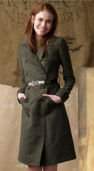 Gryphon Fall 2011 'Timeless' Coat (312x570, 141Kb)