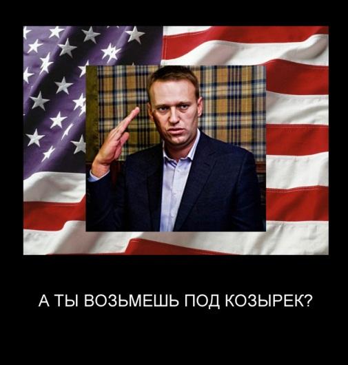 Навальный под козырьком (505x530, 66Kb)