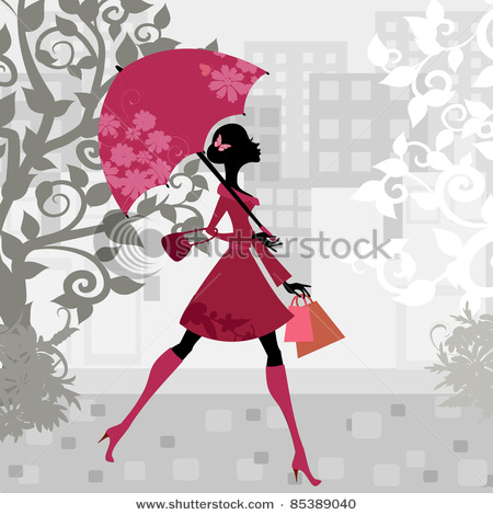 stock-vector-beautiful-woman-with-umbrella-85389040 (450x470, 63Kb)