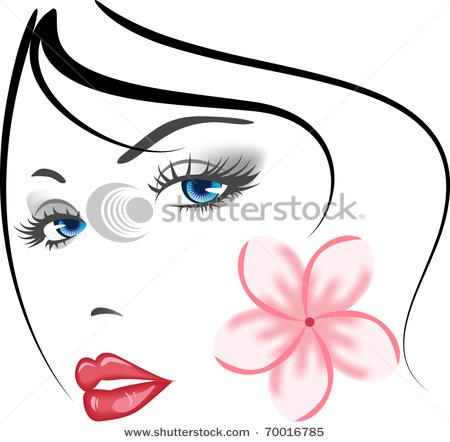 stock-vector-beauty-face-girl-
