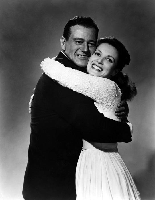 John Wayne y Maureen O?Hara (544x700, 68Kb)