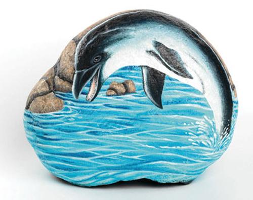 Чем рисовать на морской гальке