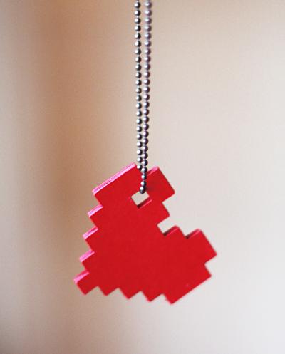 Пиксельное сердце своими руками - Muz4in.Net