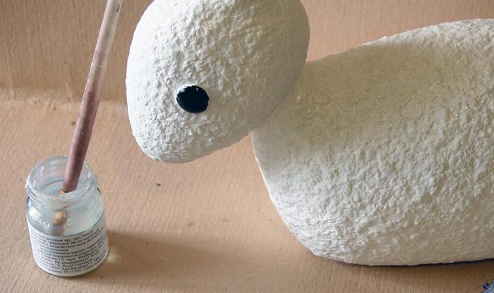 Мастер-класс по интерьерной игрушке из папье-маше. 59017