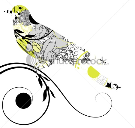 stock-vector-vector-silhouette-of-the-bird-84234052 (450x425, 81Kb)