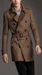 ������ Burberry Textured wool trench coat (393x700, 152Kb)