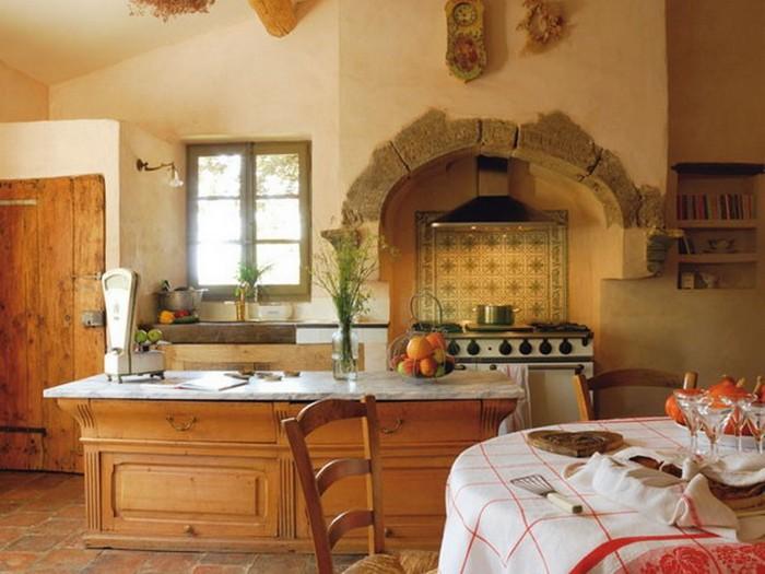 Французский стиль в интерьере кухни 1 (700x525, 85Kb)