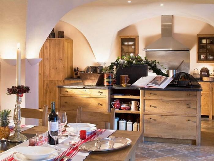 Французский стиль в интерьере кухни 3 (700x525, 95Kb)