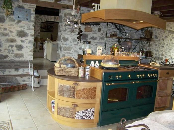 Французский стиль в интерьере кухни 11 (700x525, 106Kb)