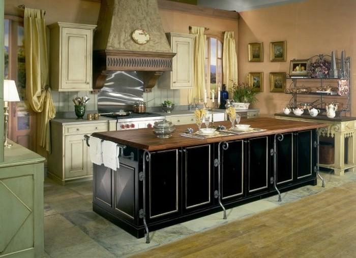Французский стиль в интерьере кухни 19 (700x508, 90Kb)