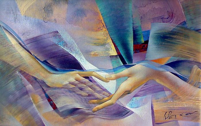 Художник Ivailo Petrov, 1965 года рождения, Болгария. (700x440, 314Kb)