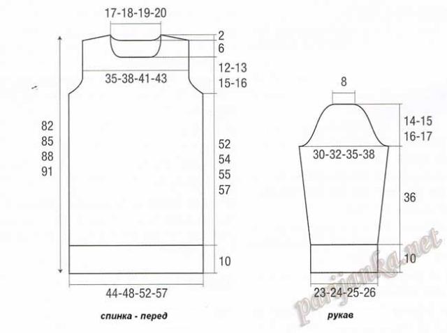 выкройка платья аранами (640x478, 80Kb)