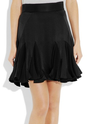 Zac Posen's black silk-charmeuse skirt (330x435, 19Kb)