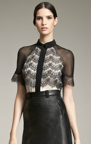 Jason Wu Blouse with Lace Overlay (309x487, 98Kb)