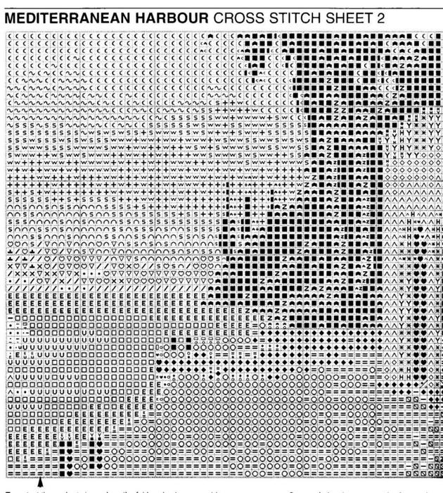 PRMH613 Mediterranean Harbour_chart3 (630x700, 408Kb)