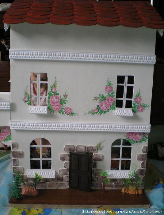 Викторианский домик для кукол