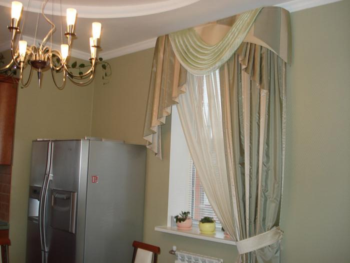 Дизайн зала и кухни фото