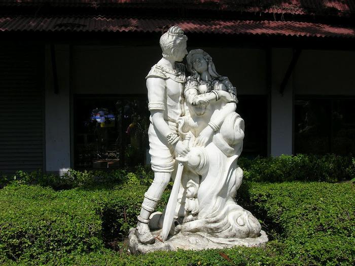 Парк Нонг Нуч (Nong Nooch Tropical Garden) 23243