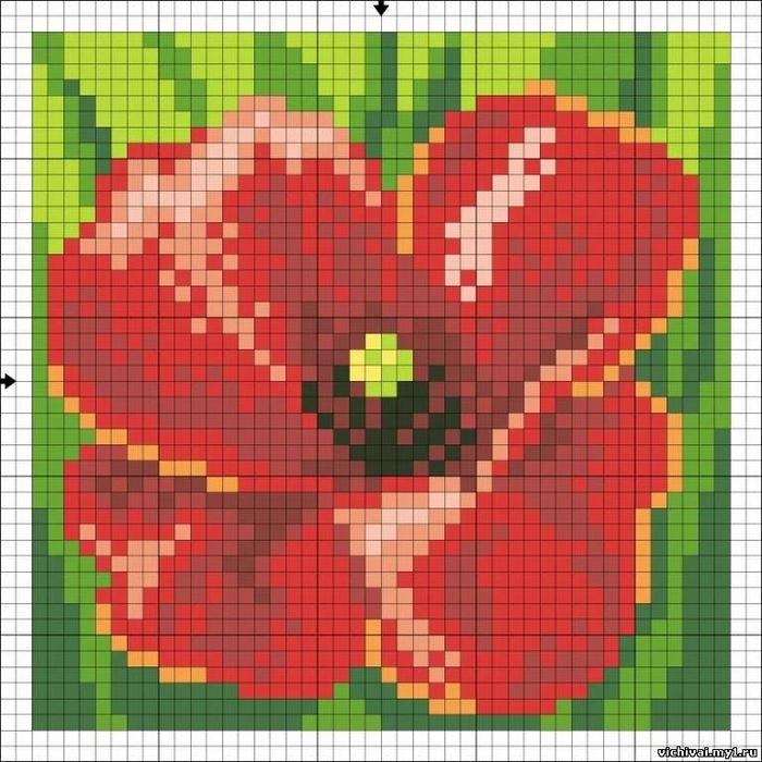 Описание: Схема для вышивки крестом - Подушка Vervaco 1225-5770 в формате xsd.