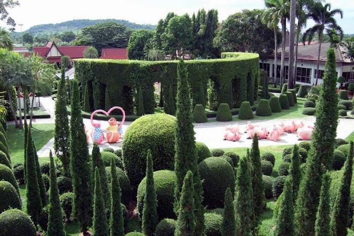 Парк Нонг Нуч (Nong Nooch Tropical Garden) 60736