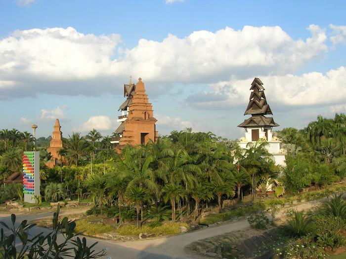 Парк Нонг Нуч (Nong Nooch Tropical Garden) 40221