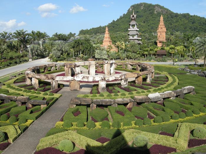 Парк Нонг Нуч (Nong Nooch Tropical Garden) 73533