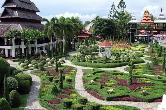 Парк Нонг Нуч (Nong Nooch Tropical Garden) 28165