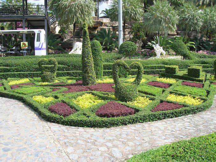 Парк Нонг Нуч (Nong Nooch Tropical Garden) 20070