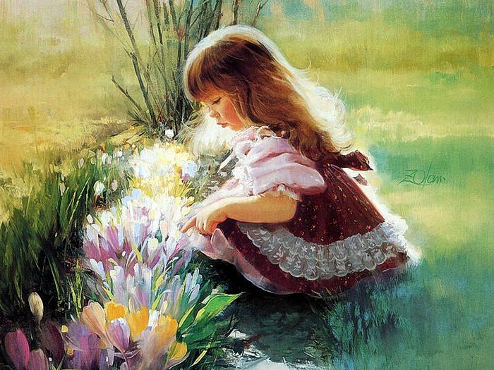 painting_children_kjb_DonaldZolan_51ColorsofSpring_sm (700x525, 321Kb)