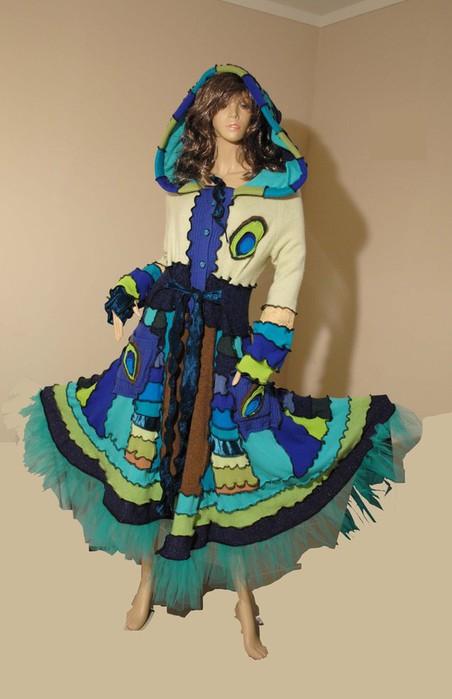 2) Из платья без рукавов - кофточку с рукавами.  Из блузки, которая стала вам слишком узка, но которую хотелось бы...