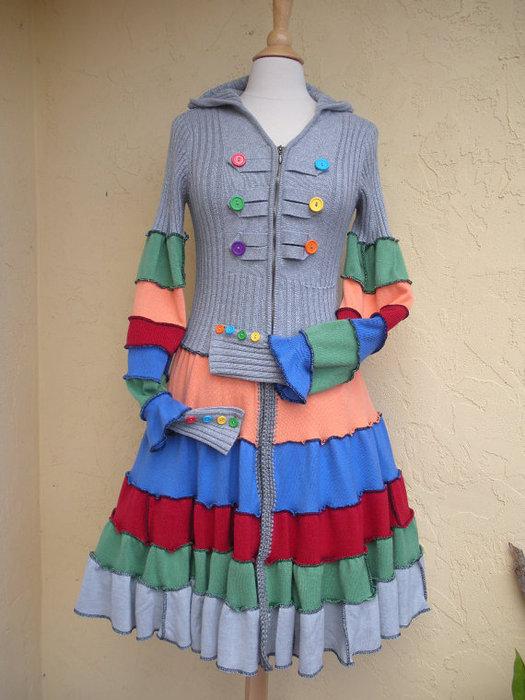 свой цитатник или сообщество!  ИСТОЧНИК2.  Примеры переделок старой одежды.
