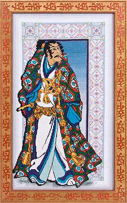 Название: Самурай Издательство: PANNA Номер: 732 Формат: jpg Размер: 16,5 Mb Набор для вышивки крестом.