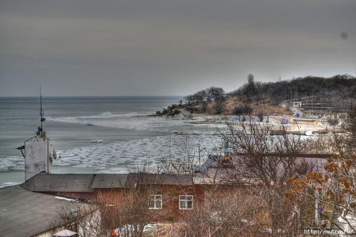 Одесса HDR море