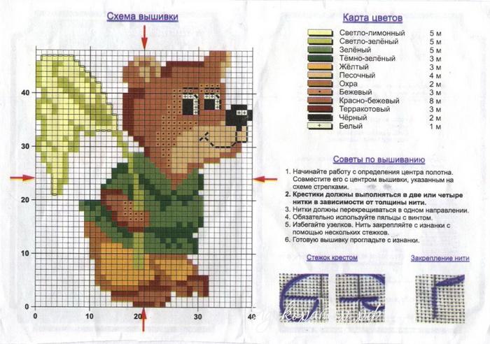 Схема вышивки в одноклассниках 433