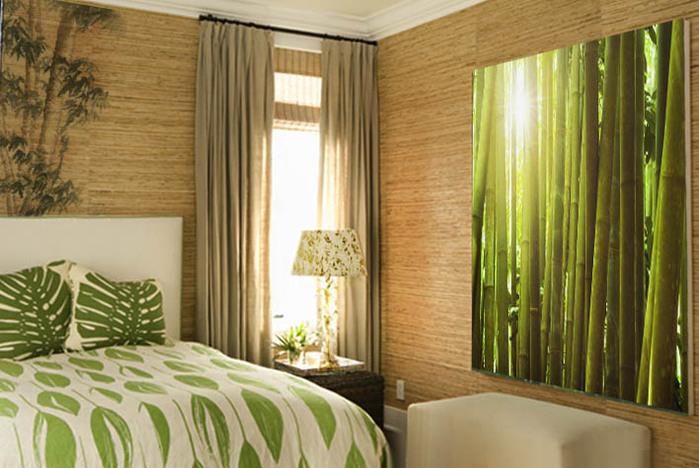 Бамбуковые интерьеры