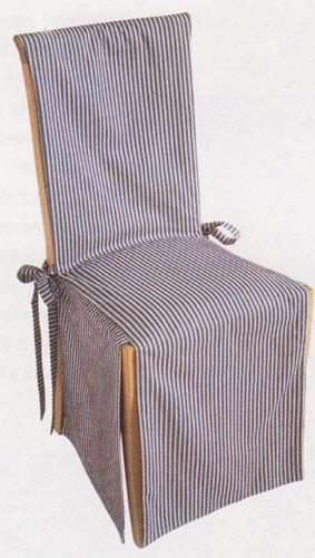 Чехол на стул своими