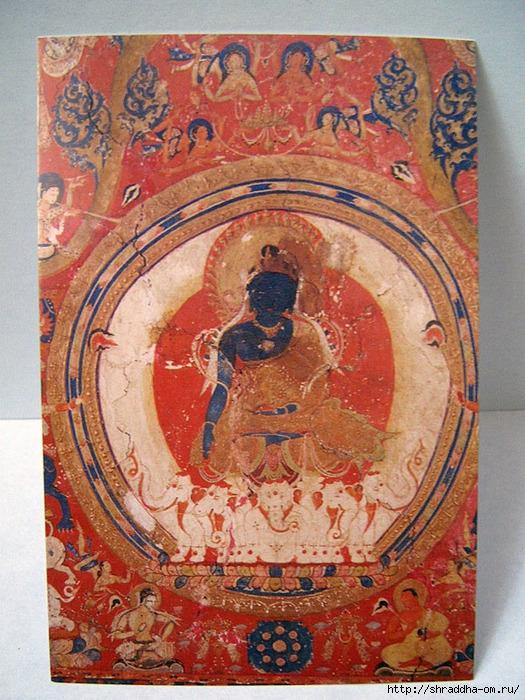Buddha Akshobhaya, роспись акрилом, автор Shraddha, 1 (525x700, 357Kb)
