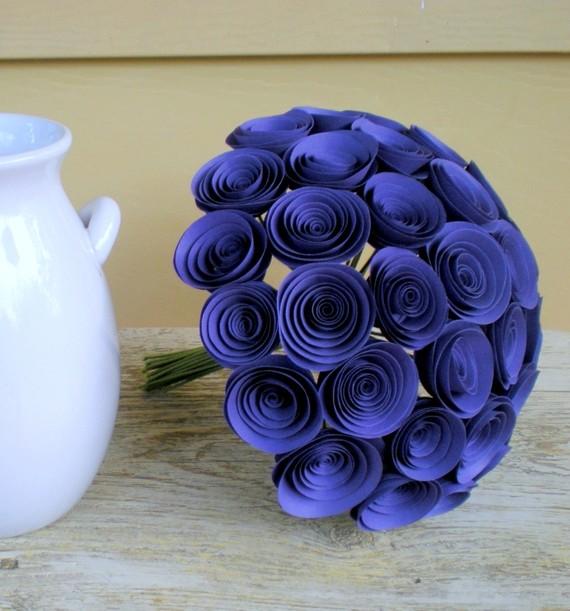 Розы  из  бумаги  своими  руками  схема