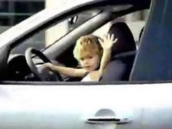 8-летний водитель (340x255, 16Kb)
