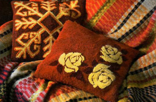 Схемы для вышивки нетканого гобелена
