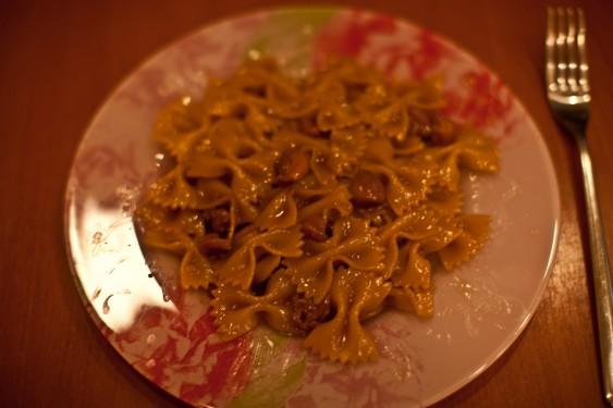 Готовим пасту фарвалле с куринным филе по-итальянски своими руками.
